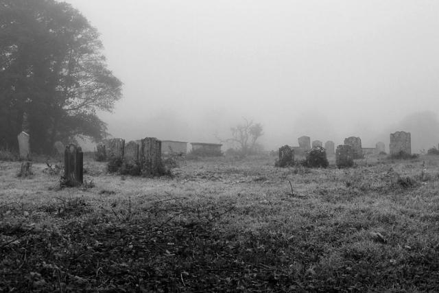 misty graveyard | Boyce Duprey | Flickr