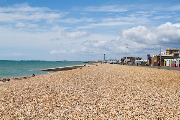 View of Hove beach