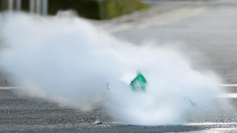 exploding bottle